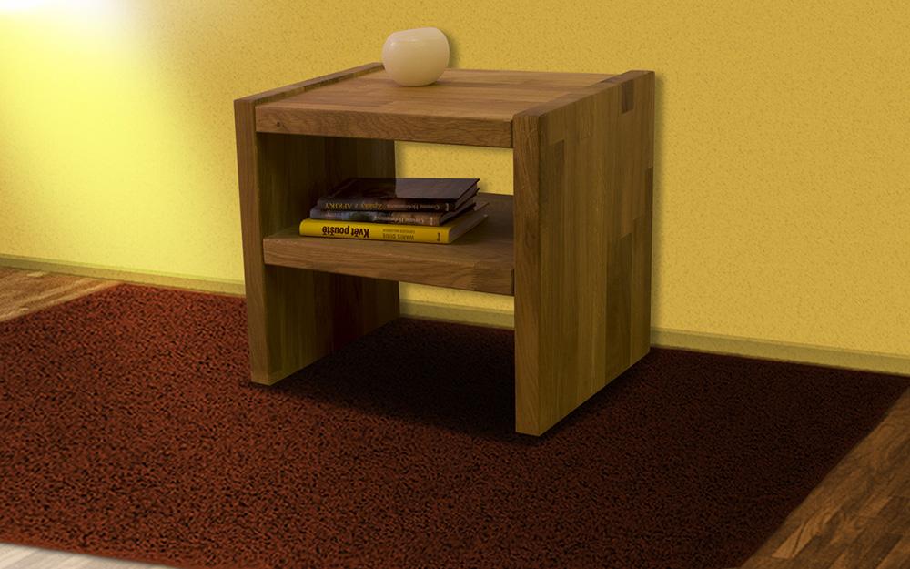 noční stolek Gustav